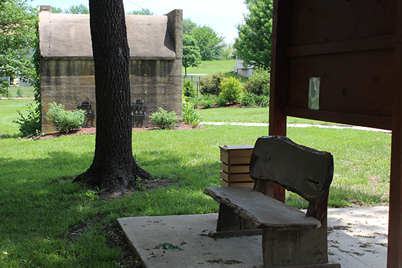 Historic Jail and Seating - Robinson Park